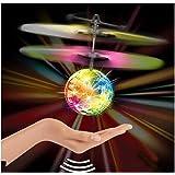 Covermason Baby Kinder Fernbedienung Spielzeug Mini Flugzeuge RC Ball Infrarot-Induktion Blinklicht Spielzeug Für Kinder
