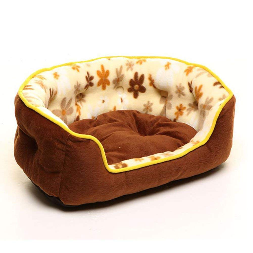 Large Gperw Pet Round Bed Two-piece Dog Home Mattress Nest Cat Nest Pet Supplies (Size   S) Non Slip Cushion Pad (Size   Large)