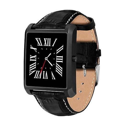 LEMFO LF20 - Reloj inteligente con Bluetooth, pantalla IPS de 1,54 pulgadas, deportivo, frecuencia cardíaca, para iPhone y Android: Amazon.es: Relojes