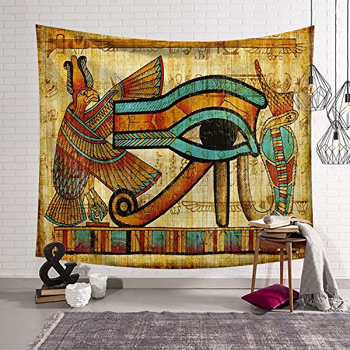Ancient Egypt Art Wall Hanging Tapestry Home Dorm Living Room Or Guest Room Decoration HYC02-B-US (150200 CM, 5)