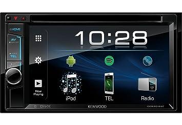 Kenwood Electronics DDX4018BT Bluetooth Negro Receptor Multimedia para Coche - Radio para Coche (Negro,