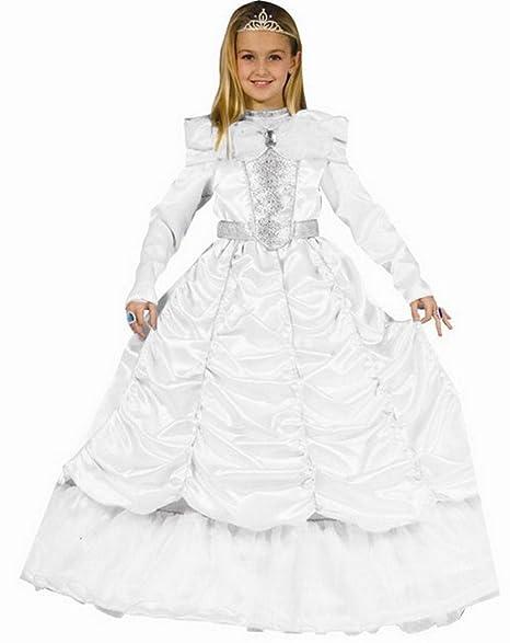 9c8f39578453 Dress Up America Lussuoso costume da sposa reale per bambina  Amazon ...