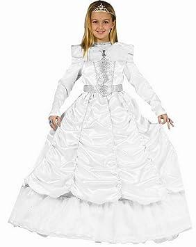 Dress up America Disfraz de novia real de niña pequeña