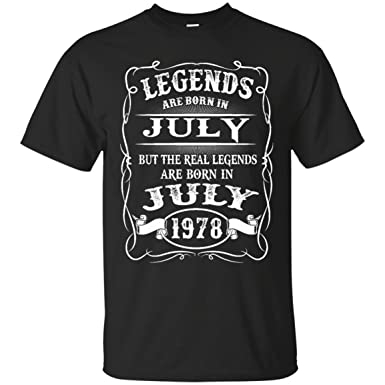 33e71733 Kings Legends are Born in July 1978 m2 at Amazon Men's Clothing store: