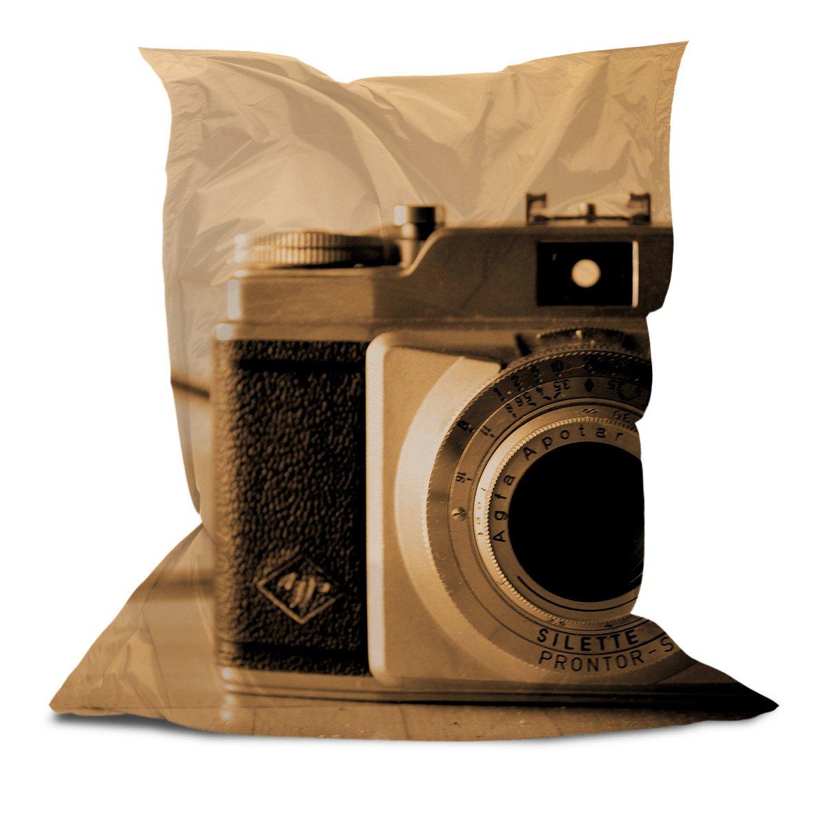 Branded Bean Bag with Printed Vintage Camera (5' x 4.4')