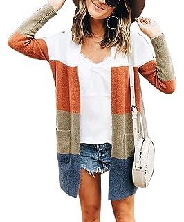 AKIMPE Clearance Sales Womens Long Sleeve Striped Rainbow Stripe Short Crop Short Sweatshirt Jumper Black Pullover Top