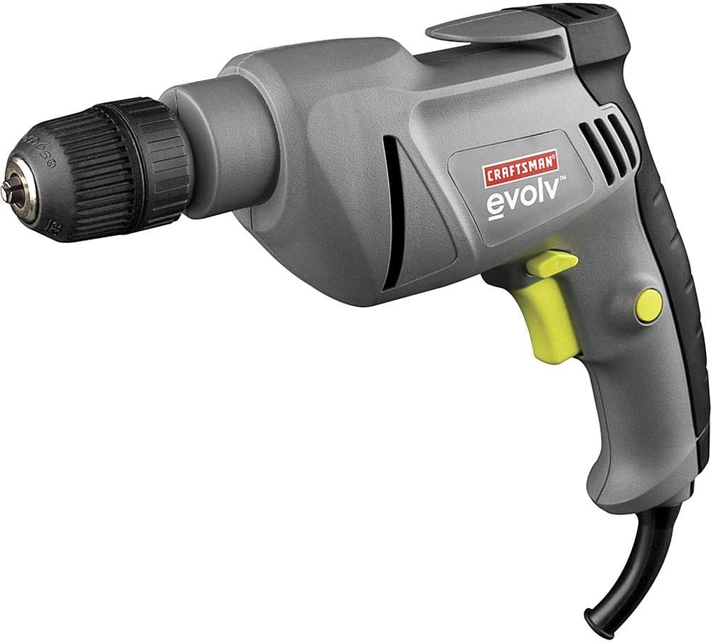 Craftsman Evolv 17217 5.2 Amp Corded 3 8 Drill