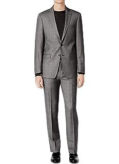 außergewöhnliche Auswahl an Stilen Kunden zuerst wo zu kaufen Amazon.com: Hugo Boss Men's Charcoal Extra Slim Fit 2 Piece ...