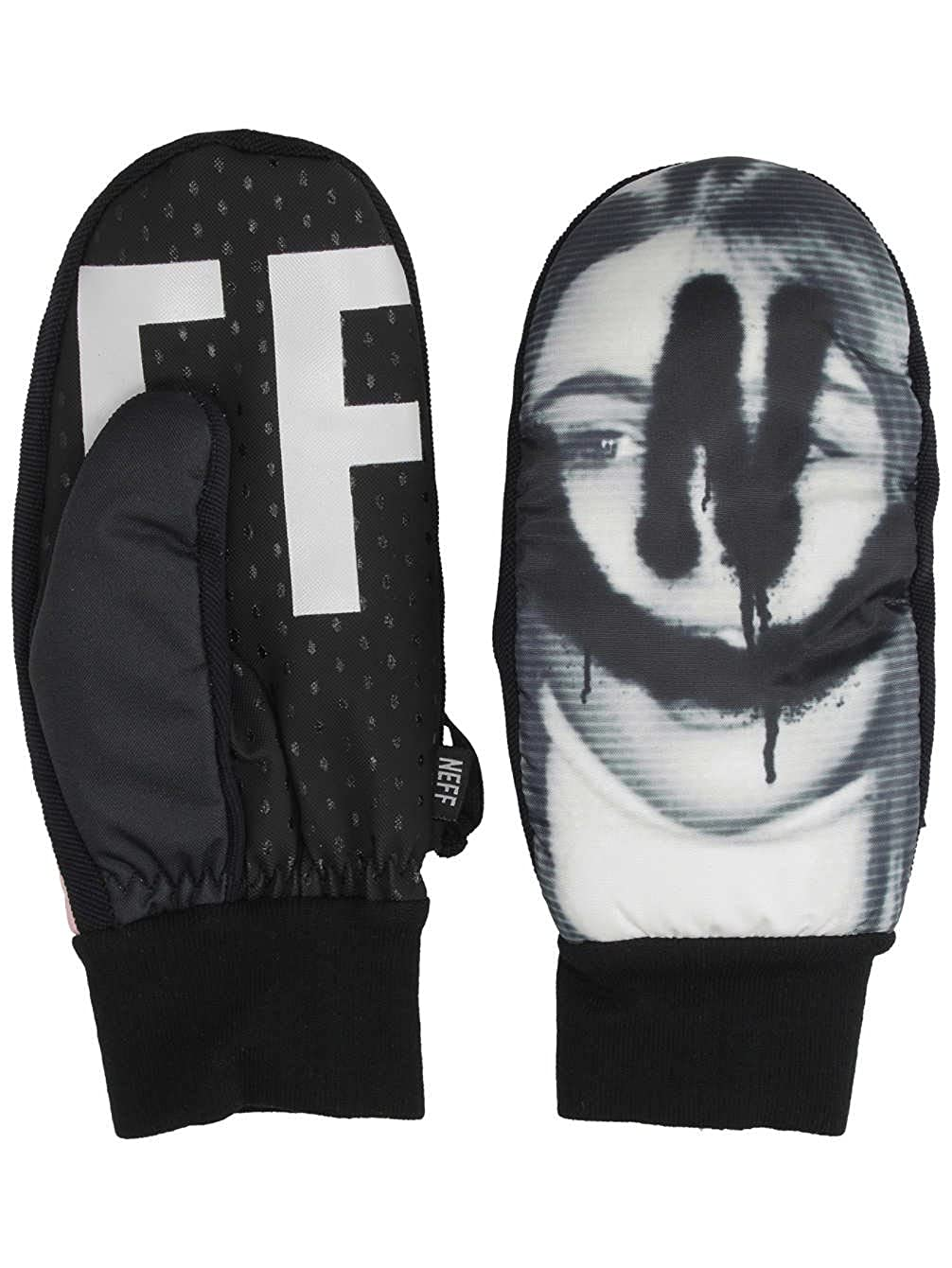 neff Mens Character Mittens-Waterproof Snowboard Gloves