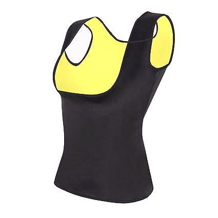b60154d253 Hot Sweat Body Shaper Tummy Fat Burner Tank Top Slimming Vest Weight Loss  Shapewear Neoprene