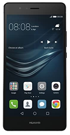 Huawei P9 lite Smartphone (13,2 cm (5,2 Zoll) Touch-Display, 16GB interner Speicher, 3GB RAM, Android 6) schwarz