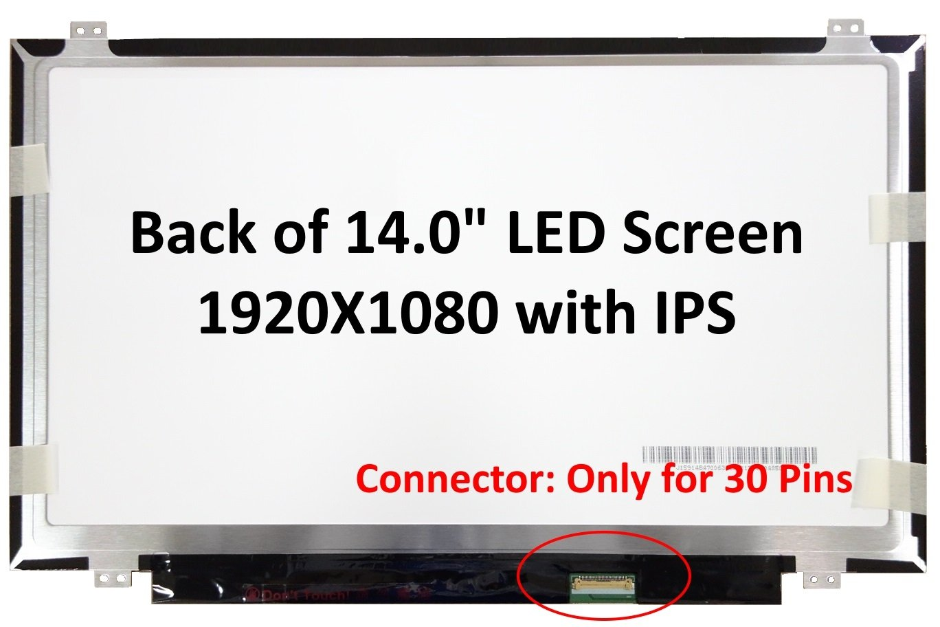 Generic New 14.0'' IPS FHD (1080P) Laptop LED LCD Replacement Screen/Panel Compatible with Lenovo THINKPAD T460S 20F9 Series
