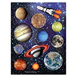 Creative Converting Space Blast Sheet of Stickers (12 Sheets)