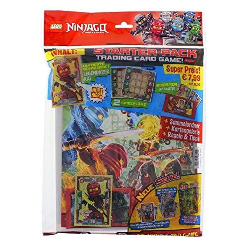 Ocean Cartes à collectionner Lego Ninjago série II, Starter Pack