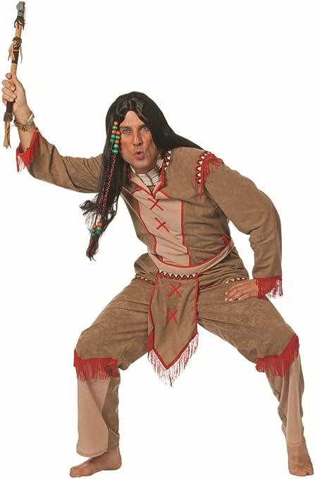 Disfraz hombre indio, 64 - 48 Gr.: Amazon.es: Juguetes y juegos