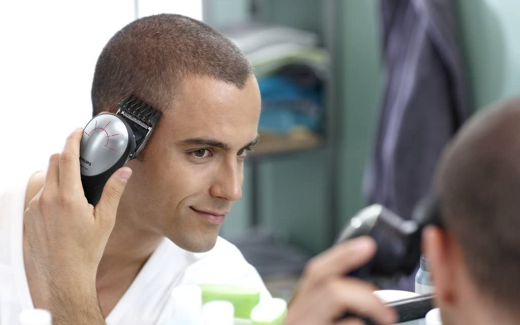 Shave Your Own Head With These 180° Rotating Head Clipper