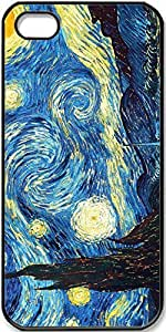 iPhone 5/5s Vincent-Van-Gogh-Starry-Night Case for iPhone 5 iPhone 5s with Black Side