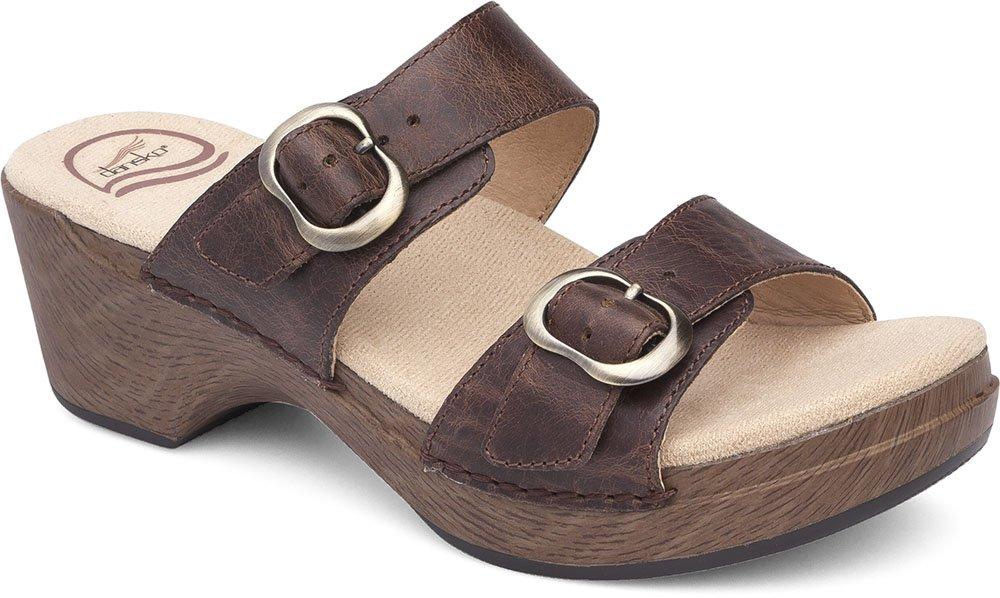 Dansko Womens Sandals Sophie Teak, Size-37