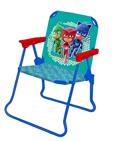 Sensational Patio Chair Pj Masks For Kids Portable Folding Lawn Chair Short Links Chair Design For Home Short Linksinfo