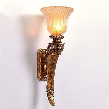 Amazon Com Yoioy Home Wall Lamp Modern Simple Imitation