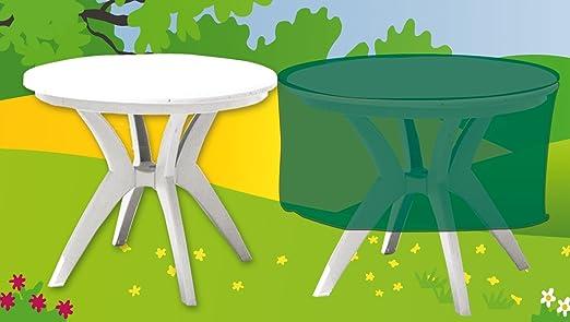 Funda cubre muebles de jardín impermeable Deluxe para mesa redonda ...