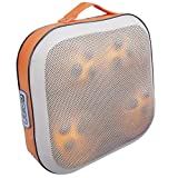 Tomight Shiatsu Pillow Massager with Heated Balls - Beige