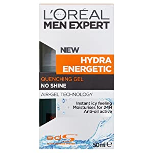 L'Oreal Men Expert Hydra Energetic Anti-Shine Moisturiser 50ml