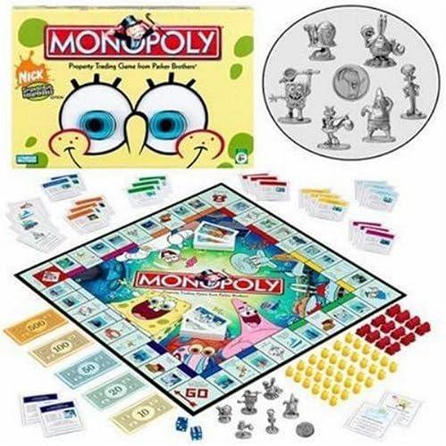 Monopoly - Spongebob Squarepants edición (Inglés Language).: Amazon.es: Juguetes y juegos