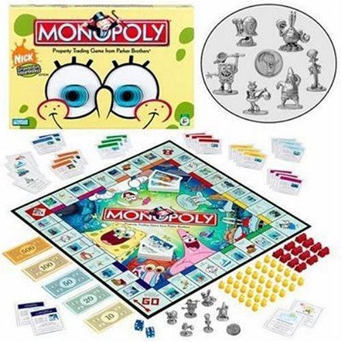 Monopoly SpongeBob SquarePants (Parker Brothers)