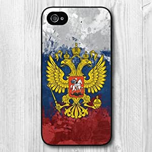 iphone covers New Vintage Design Russia Flag Pattern Protective Hard Phone Cover Skin Case For Iphone 5c +Screen Protector