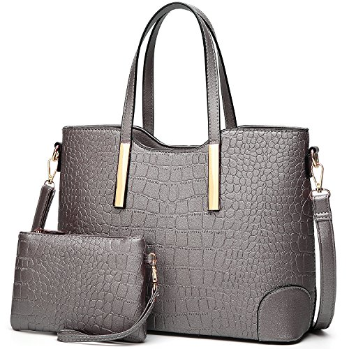 YNIQUE Satchel Purses and Handbags for Women Shoulder Tote Bags Wallets