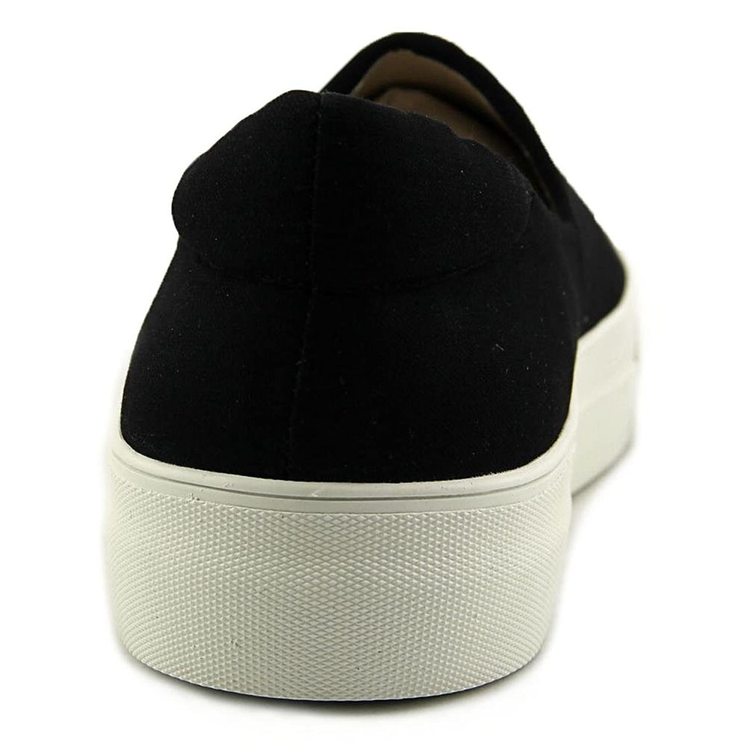 Nine West Due Over Round Toe Canvas Loafer