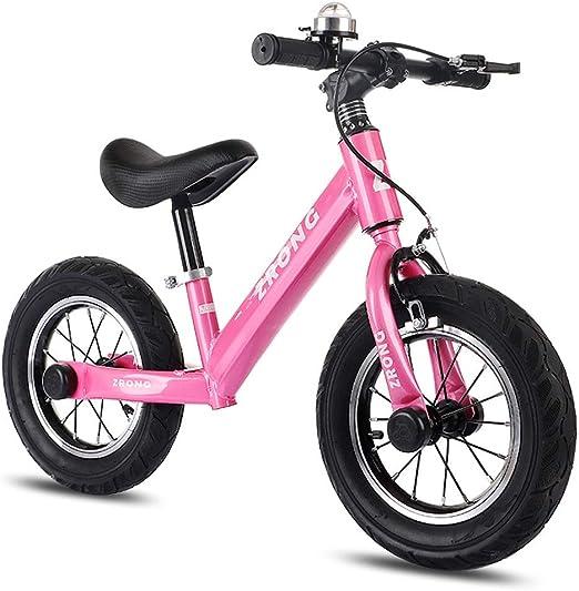 LLF Bicicleta Sin Pedales 12 Pulgadas Marco De Niños Kids Bike ...