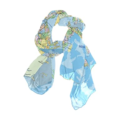 Cooper girl political world map silk scarf shawl wrap for women cooper girl political world map silk scarf shawl wrap for women girls gumiabroncs Image collections