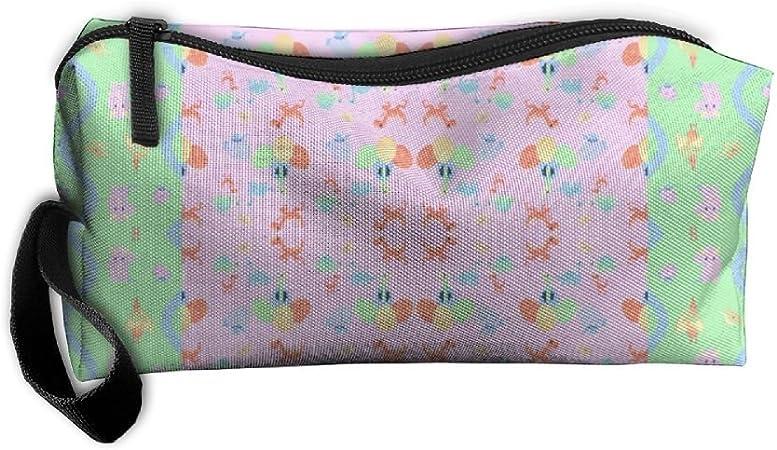 Dinosaurios Patchwork bag-portable de aseo Viaje Organizador de maquillaje bolsa caso para mujeres hombres Kit de afeitar con gancho para colgar para vacaciones: Amazon.es: Hogar