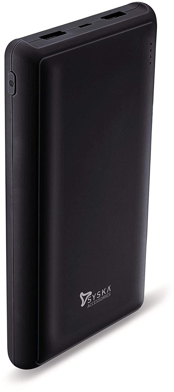 Syska Power Pro 200 20000mAH Power Bank (Black)