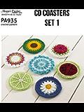 Crochet Pattern Everyday CD Coasters Set 1 PA935-R