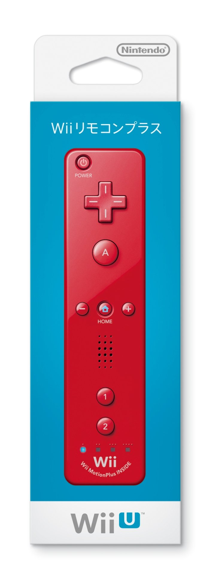 Wii Remote Plus (Red)
