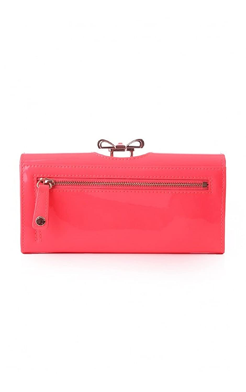 8e7b1c4fa Ted Baker Women s crystal bow bobble matinee purse Neon Bright Pink   Amazon.co.uk  Clothing