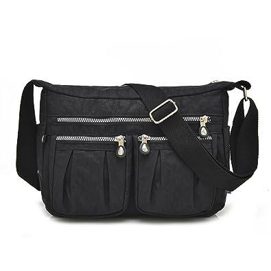 Amazon.com: Ligero Crossbody Bolsa de la mujer bolso de mano ...