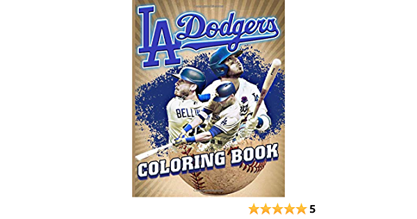 La Dodgers Coloring Book Los Angeles Dodgers Amazing Coloring Books For Adults Teenagers Taylor Lennox 9798665620800 Amazon Com Books