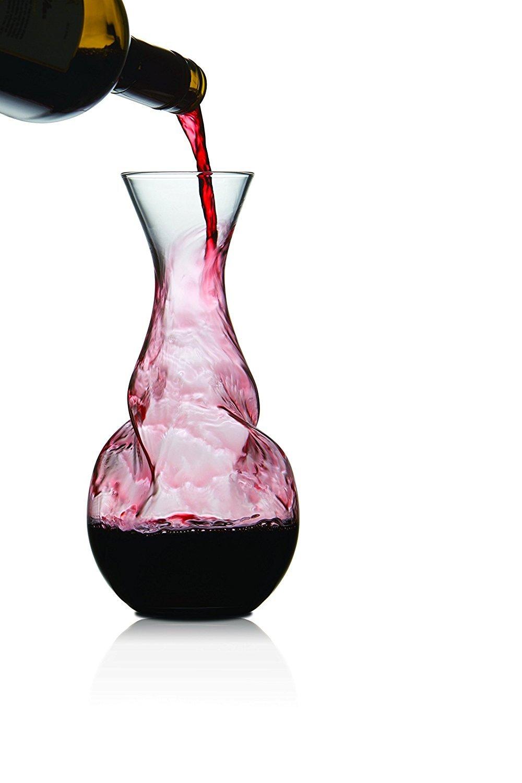 Brilliant - Tourbillon Twisted Wine Aerator Decanter, 0.75L