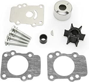 Full Power Plus 9.9HP 15HP Yamaha 4 Stroke Outboard Impeller kit F9.9 FT9.9 F8 (1984-1995) Replacement Sierra 18-3148 682-W0078-A1
