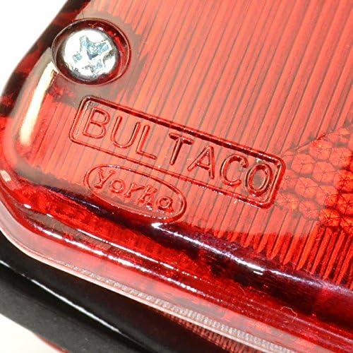 Bultaco logo Feu arri/ère