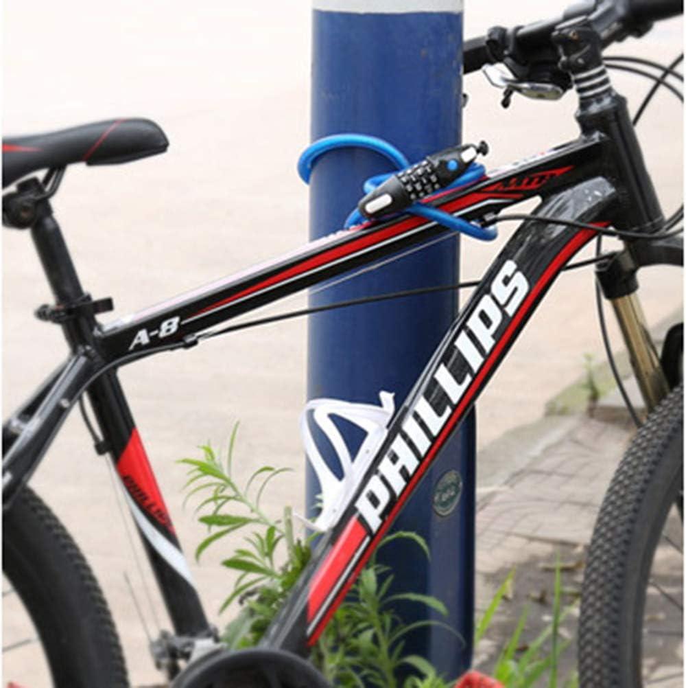 Candado para bicicleta Con cerradura con código de luz Dispositivo ...