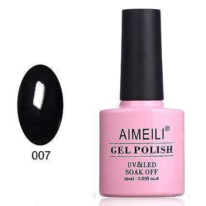 Aimeili Soak Off Uv Led Gel Nail Polish   Blackpool (007) 10ml by Aimeili