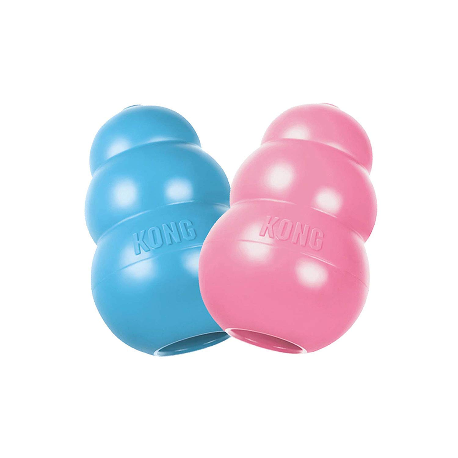 KONG Large Puppy Teething Toy - Colors May Vary (2 Pack) by KONG