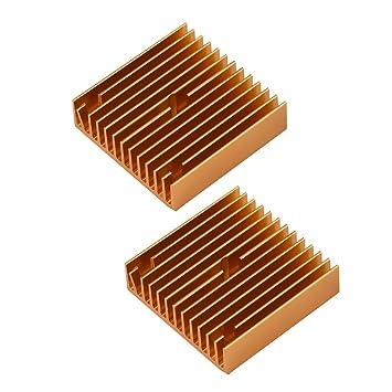 Disipador de Calor, 2pcs Accesorios de Impresora 3D Disipador de ...