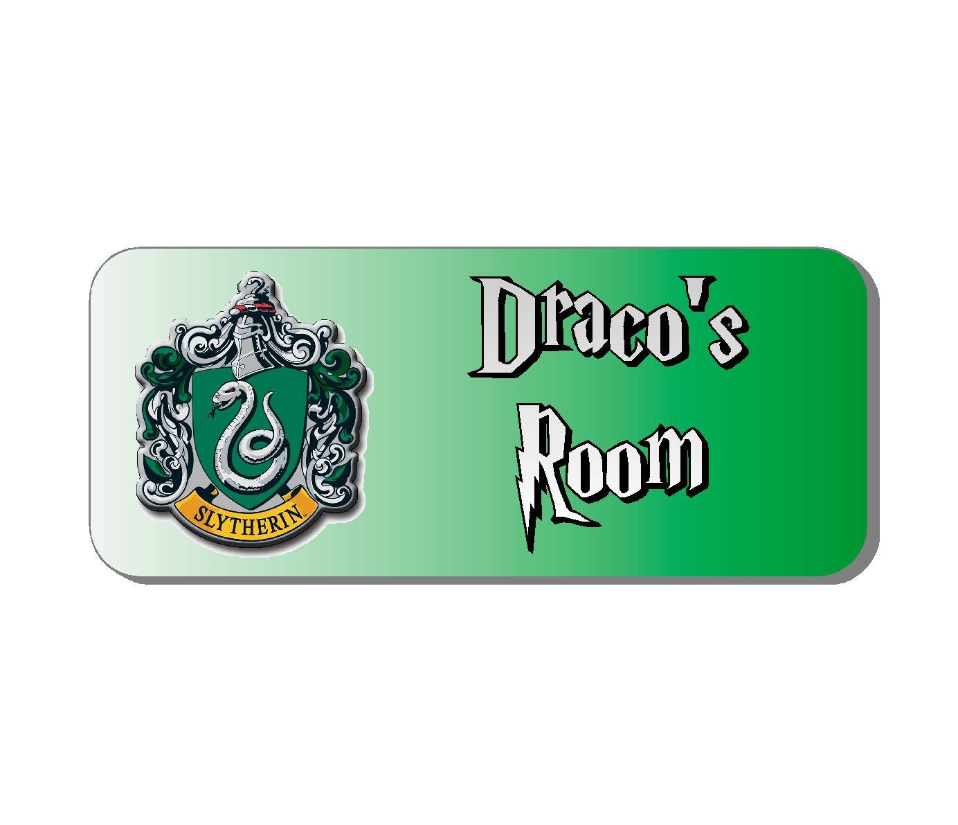 Solo Signs UK - Placa para Puerta de Harry Potter Slytherin ...