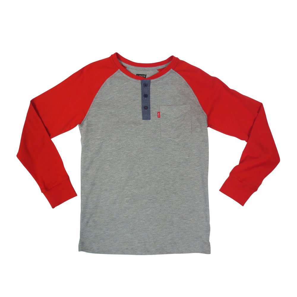 Levi's Little Boy's One Pocket Raglan Henley 818482